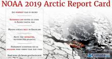 Screenshot of 2019 NOAA Arctic Report Card